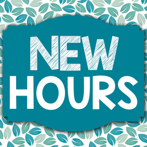 Library Hours to Extend Starting Monday, August 31st