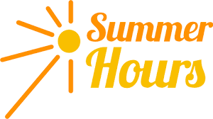 Library Summer Hours Are Here!