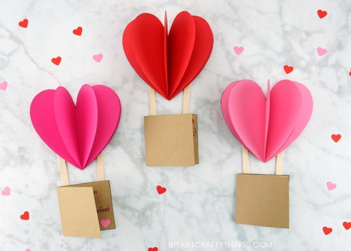 Marshmallow Madness Makerspace Valentine's Day Card Making